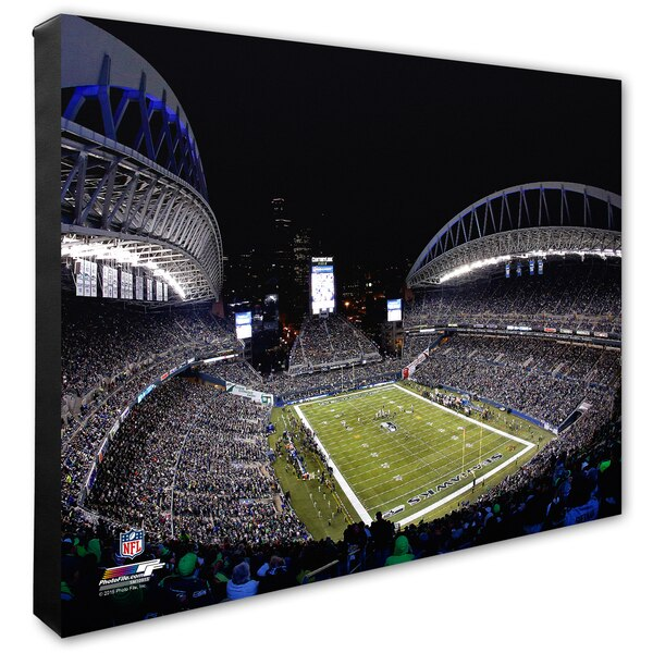 "Seattle Seahawks 20"" x 24"" Stadium Canvas"