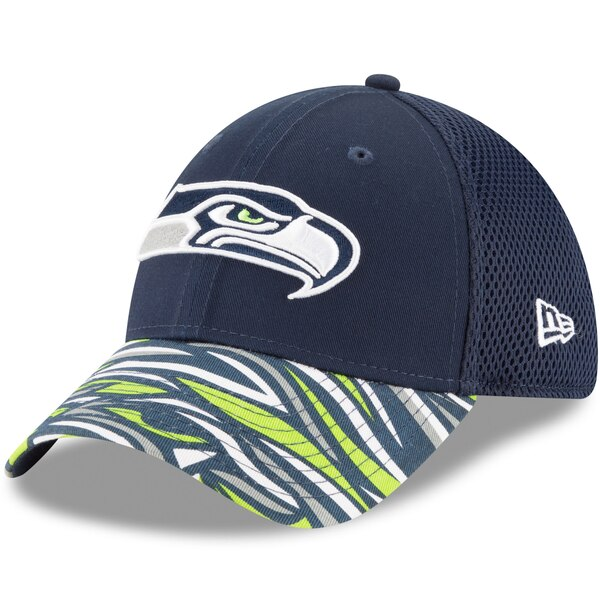 Seattle Seahawks New Era NFLxFIT 39THIRTY Flex Hat - College Navy