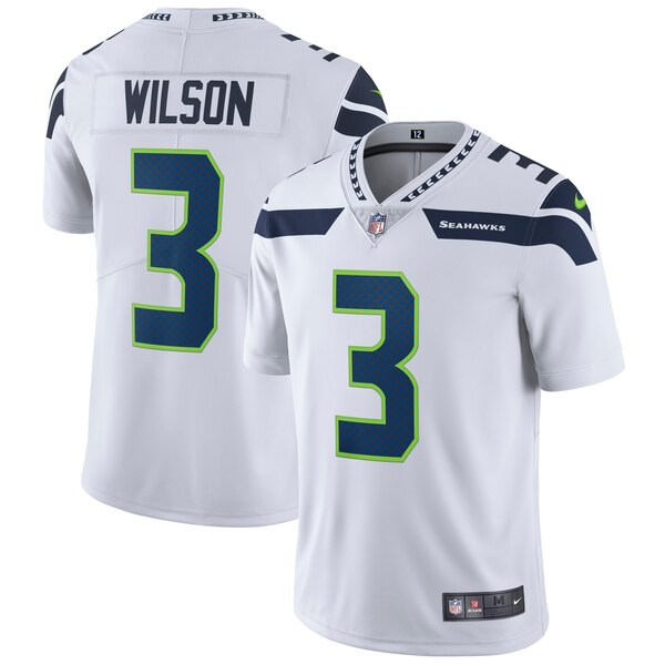 Russell Wilson Seattle Seahawks Nike Vapor Untouchable Limited Player Jersey - White