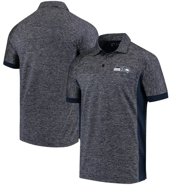 Seattle Seahawks Antigua Talent Polo - Navy