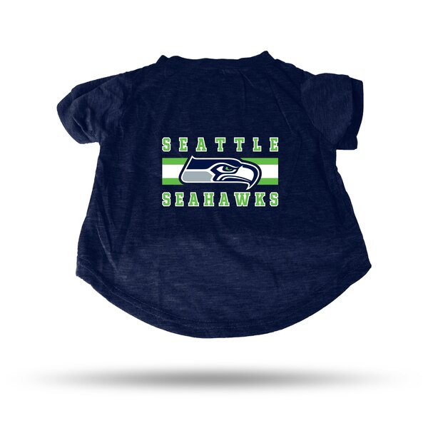 Seattle Seahawks Sparo Pet T-Shirt - Blue