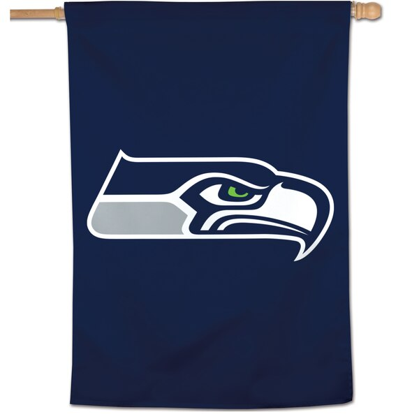 "Seattle Seahawks WinCraft 28"" x 40"" Large Logo Single-Sided Vertical Banner"