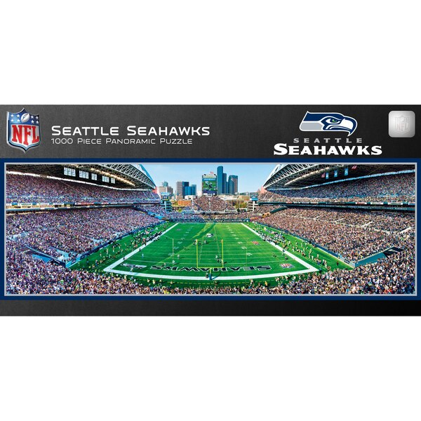 Seattle Seahawks 1000-Piece NFL Stadium Panoramic Puzzle