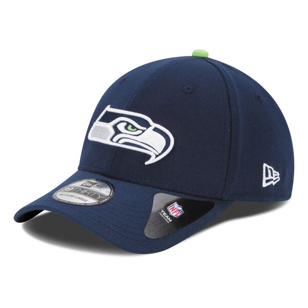 Seattle Seahawks New Era 39THIRTY Team Classic Flex Hat - College Navy