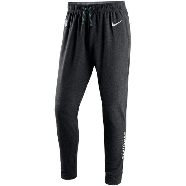 Seattle Seahawks Nike Touch Fleece Performance Pants - Charcoal