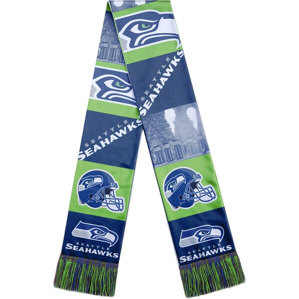Seattle Seahawks Bar Scarf - College Navy