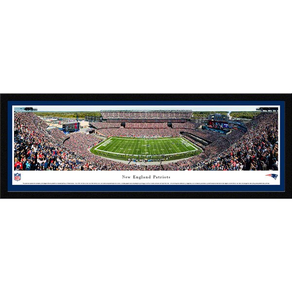 "Seattle Seahawks 42"" x 15.5"" 50-Yard Line Select Framed Panoramic"