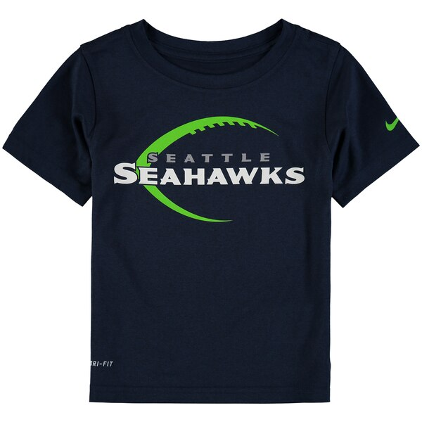 Seattle Seahawks Nike Toddler Legend Icon Performance T-Shirt - College Navy
