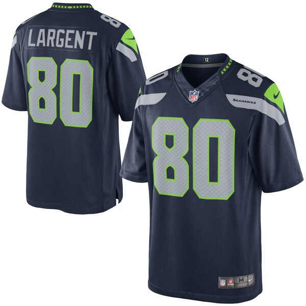 Steve Largent Seattle Seahawks Nike Retired Player Limited Jersey - College Navy