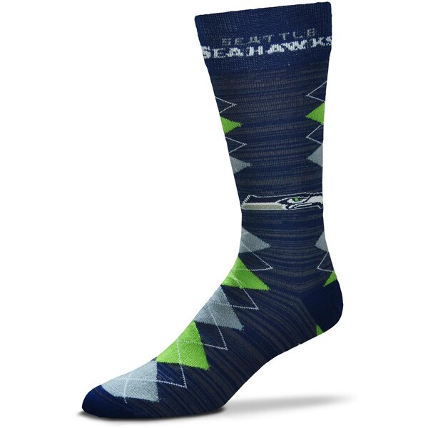 Seattle Seahawks For Bare Feet Fan Nation Crew Socks