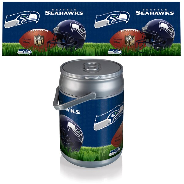 Seattle Seahawks Diagonal Can Cooler