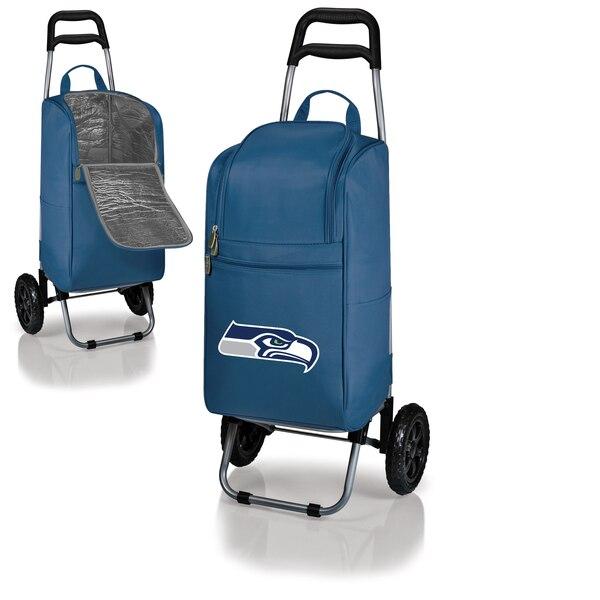 Seattle Seahawks Cart Cooler - Navy