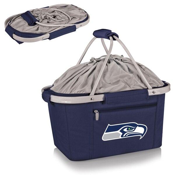 Seattle Seahawks Metro Basket Collapsible Tote - Navy