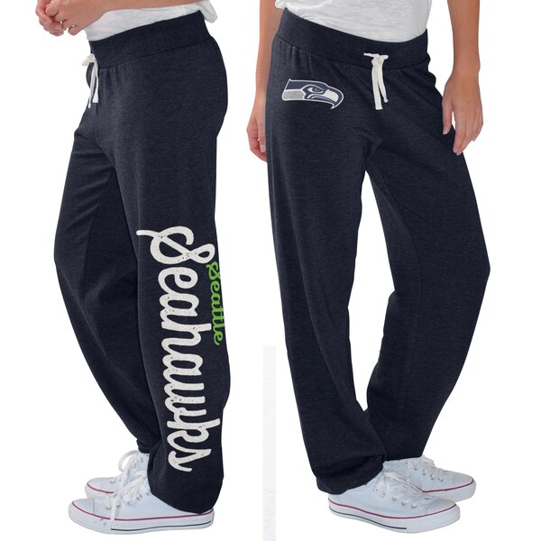 Seattle Seahawks G-III 4Her by Carl Banks Women's Scrimmage Fleece Pants - College Navy