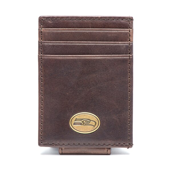 Seattle Seahawks Legacy Magnetic Front Pocket Wallet
