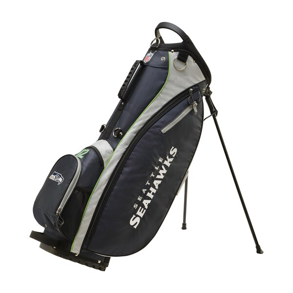 Seattle Seahawks Wilson Carry Golf Bag