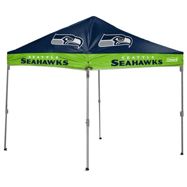 Seattle Seahawks Coleman 10' x 10' 2-Tone Straight Leg Canopy Tent