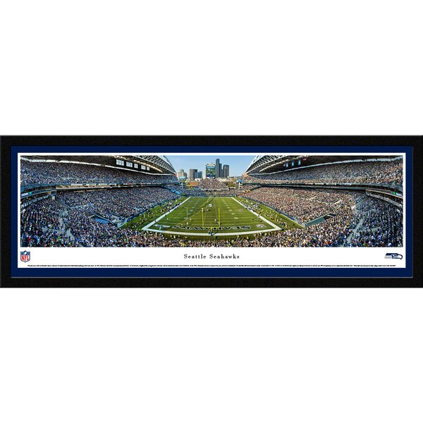 "Seattle Seahawks 16"" x 42"" Select Frame Panoramic Photo"