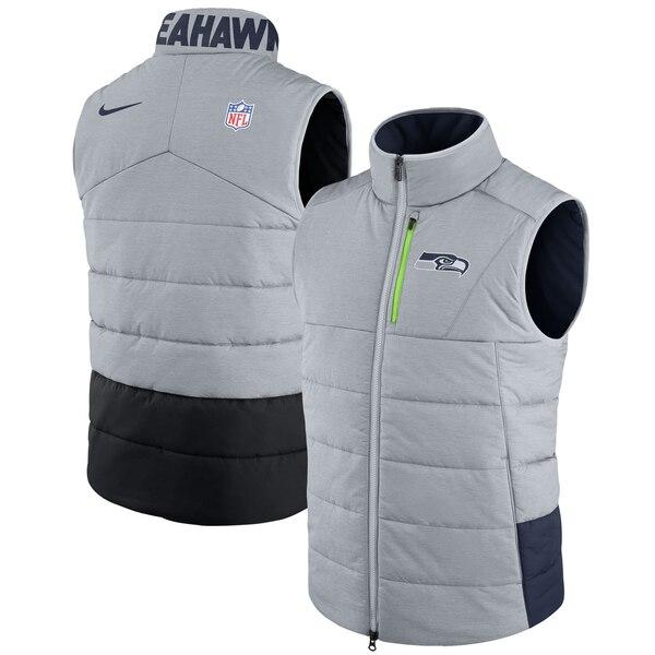 Seattle Seahawks Nike Sideline Vest - Gray