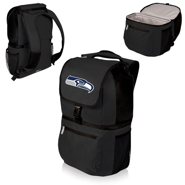 Seattle Seahawks Zuma Cooler Backpack - Black