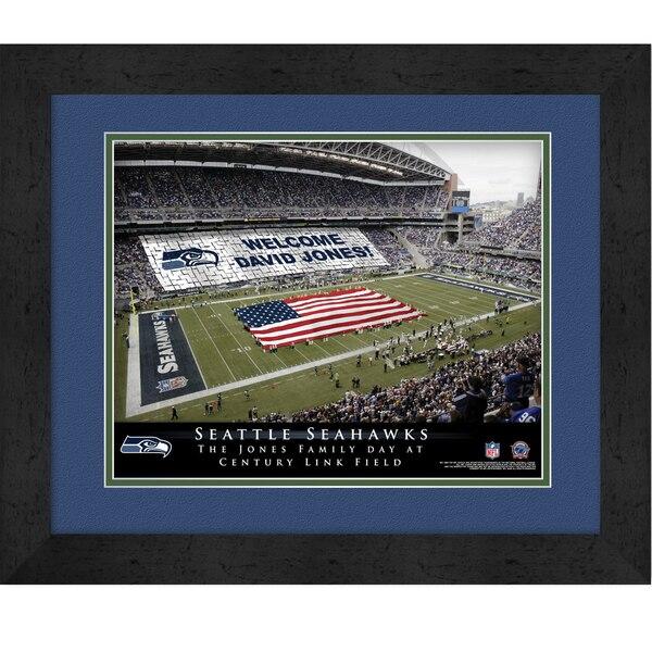 Seattle Seahawks Personalized Stadium Card Stunt Frame