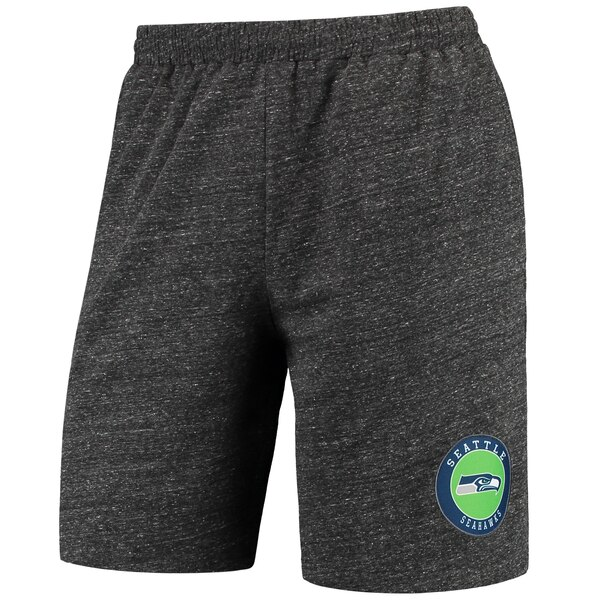 Seattle Seahawks Concepts Sport Pitch Knit Shorts - Charcoal