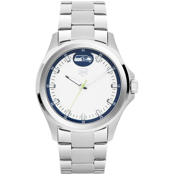 Seattle Seahawks Legacy Stainless Steel 3 Hand Watch