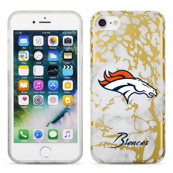 Denver Broncos Marble iPhone 6/6s/7/8 Case