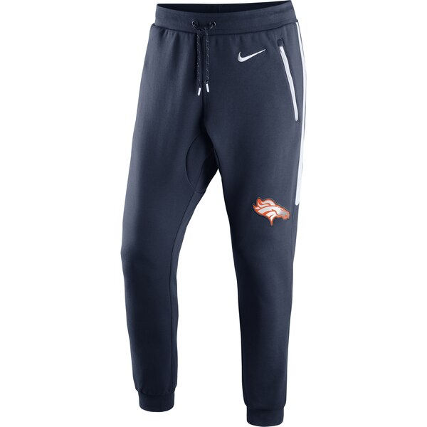Denver Broncos Nike Champ Drive Fleece Pants - Navy