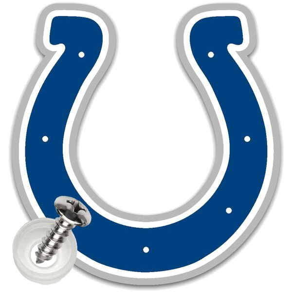 Indianapolis Colts Acrylic License Plate Screw Cover