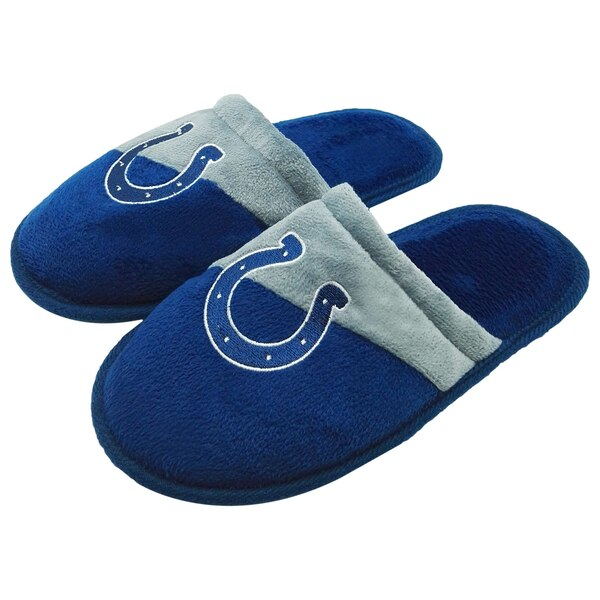 Indianapolis Colts Youth Slide Slippers