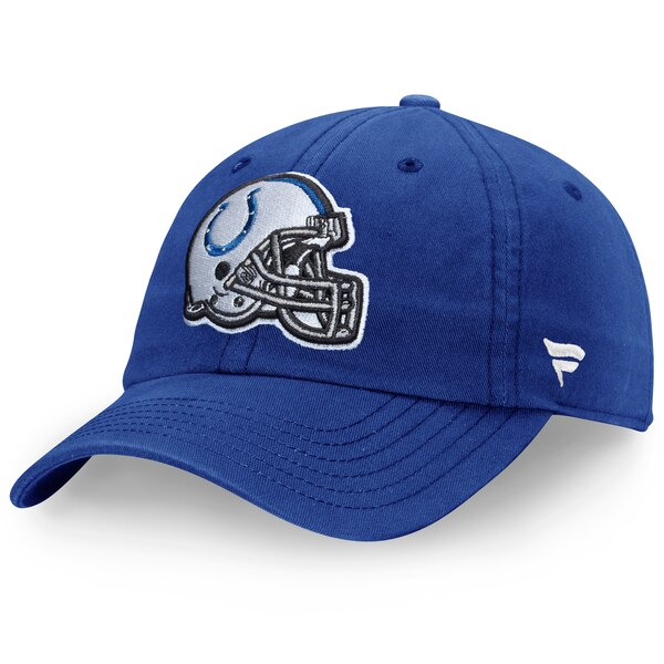 Indianapolis Colts NFL Pro Line by Fanatics Branded Youth Fundamental Adjustable Hat - Royal