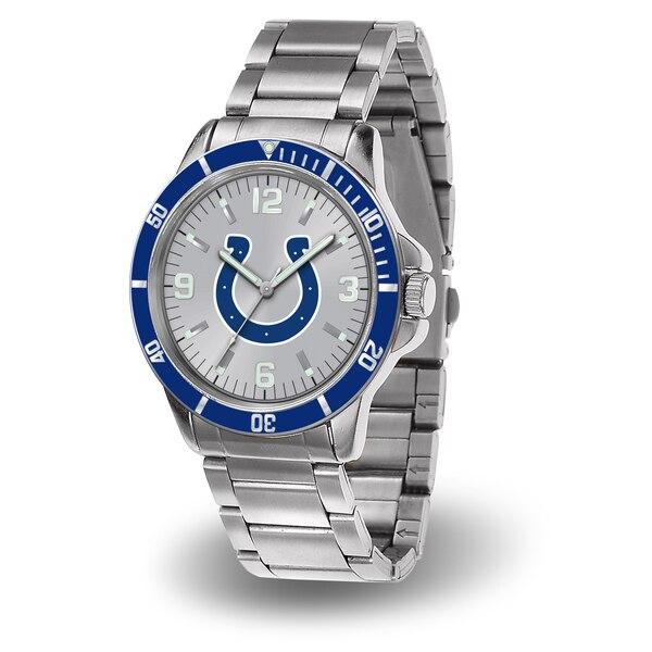 Indianapolis Colts Sparo Key Bracelet Quartz Watch - Silver