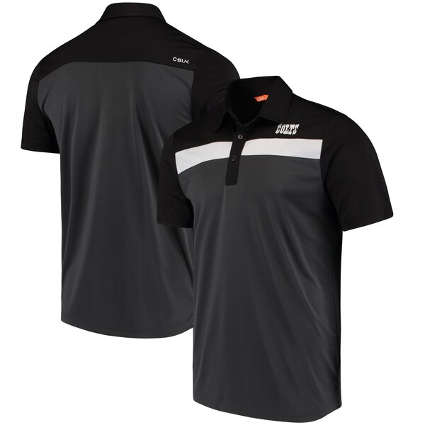 Indianapolis Colts CBUK by Cutter & Buck Chambers Polo - Black/Charcoal