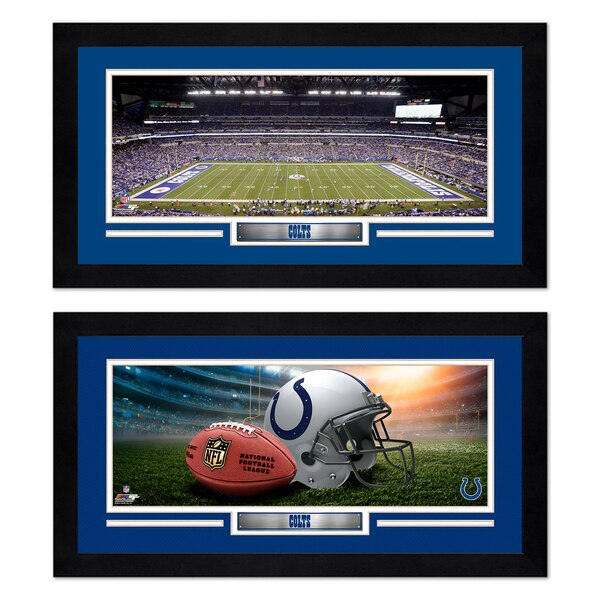 Indianapolis Colts 7'' x 13'' Two Miniframe Bundle