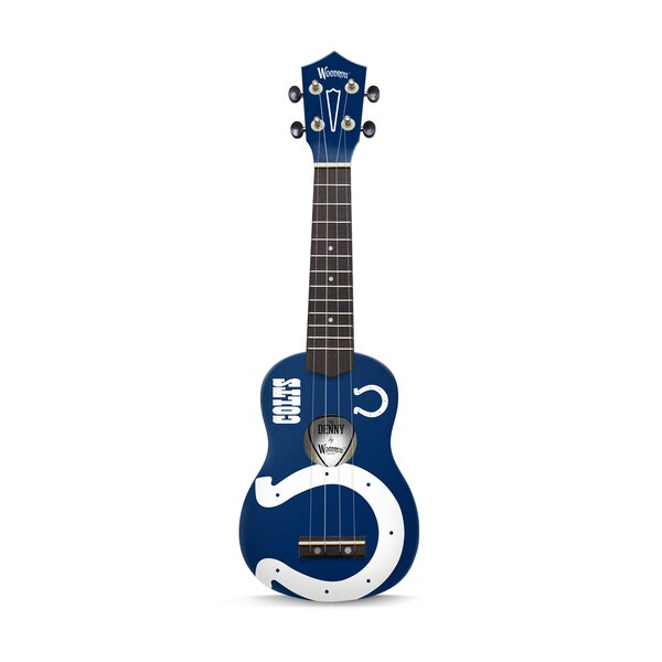 Indianapolis Colts Woodrow Denny Ukulele