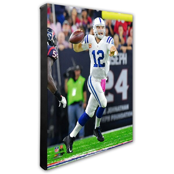 "Andrew Luck Indianapolis Colts 16"" x 20"" Player Canvas"
