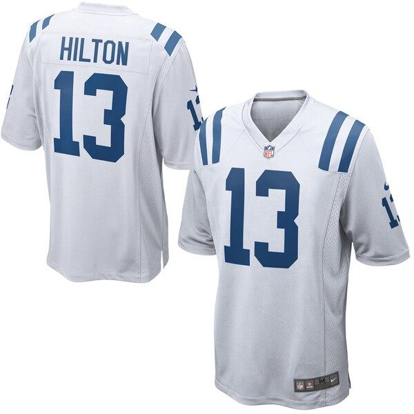 T.Y. Hilton Indianapolis Colts Nike Game Jersey - White