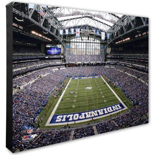 """Indianapolis Colts 16"""" x 20"""" Stadium Canvas"""