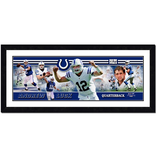 "Andrew Luck Indianapolis Colts 18"" x 42"" Player Photoramic"