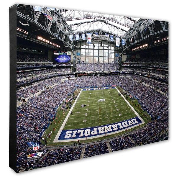 """Indianapolis Colts 20"""" x 24"""" Stadium Canvas"""