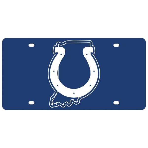 Indianapolis Colts State Pride License Plate