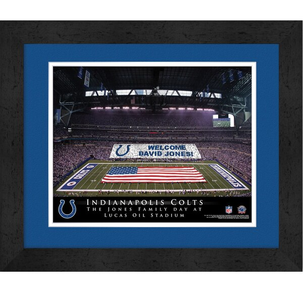 Indianapolis Colts Personalized Stadium Card Stunt Frame
