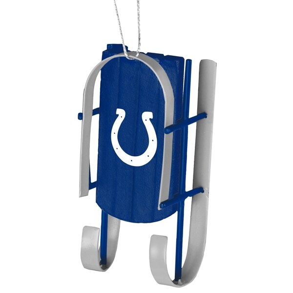 Indianapolis Colts Sled Ornament -