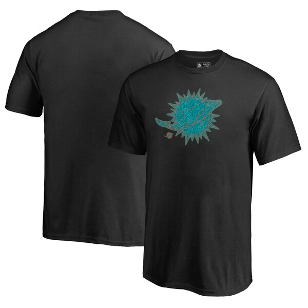 Miami Dolphins NFL Pro Line by Fanatics Branded Youth Training Camp Hookup T-Shirt - Black