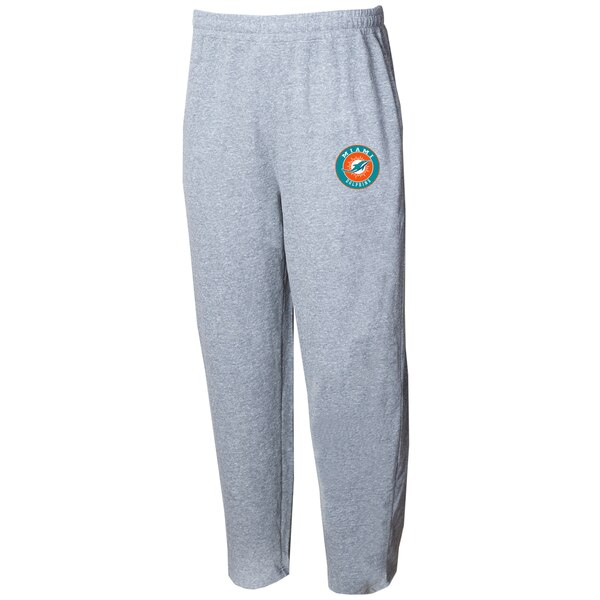 Miami Dolphins Concepts Sport Mainstream Terry Pants - Gray