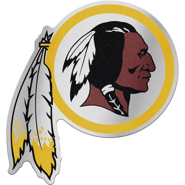"Washington Redskins WinCraft 5"" x 2.5"" Auto Emblem Decal"