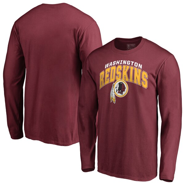 buy online d0834 6d0de Washington Redskins NFL Pro Line by Fanatics Branded Big & Tall Steady Long  Sleeve T-Shirt - Burgundy