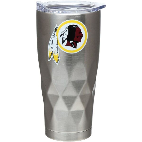 Washington Redskins 22oz. Diamond Bottom Stainless Steel Tumbler