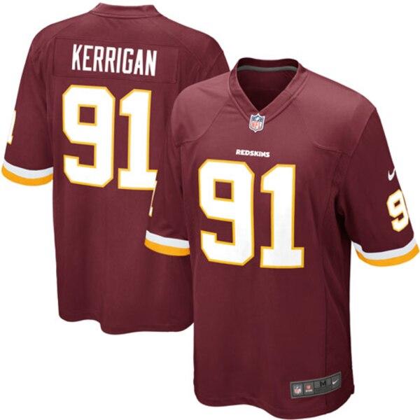 Ryan Kerrigan Washington Redskins Nike Youth Team Color Game Jersey - Burgundy